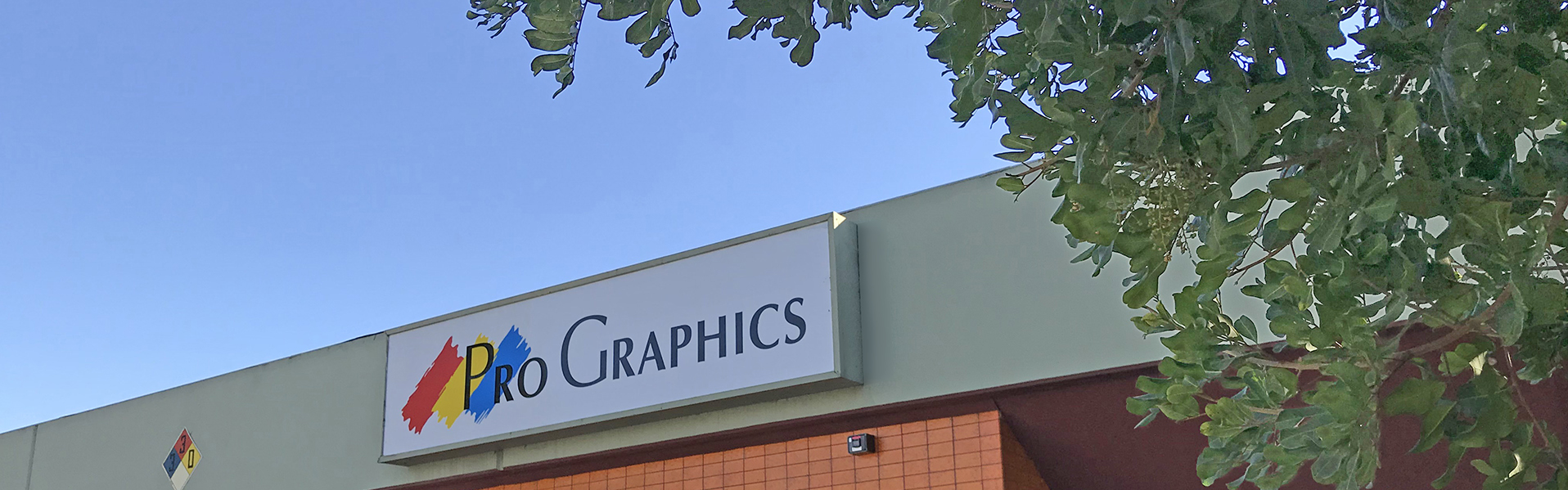 ProGraphics building sign